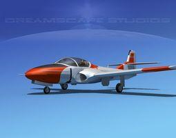 Cessna T-37 Tweetybird V08 Portugal 3D Model