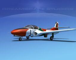 Cessna T-37 Tweetybird V09 Portugal 3D Model