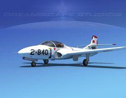 Cessna T-37 Tweetybird Turkey 3D Model