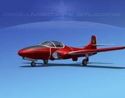 Cessna T-37 Tweetybird Pakistan 3D Model