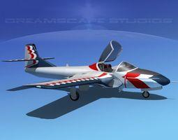 Cessna T-37 Tweetybird V16 Civil Sport 3D Model