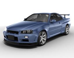 3D Nissan Skyline