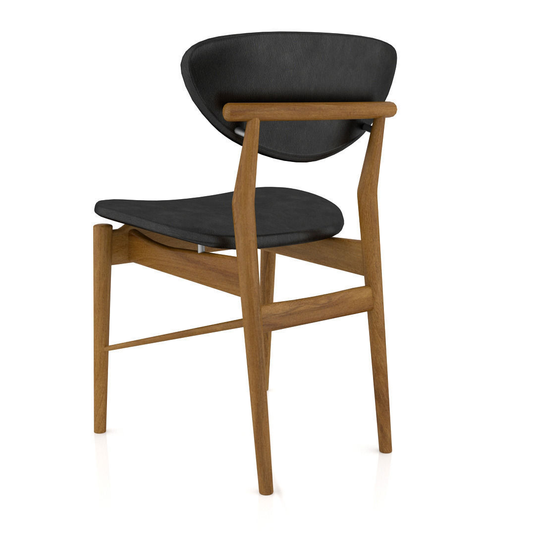 ... Finn Juhl 108 Chair 3d Model Max Obj Fbx Stl 4 ...