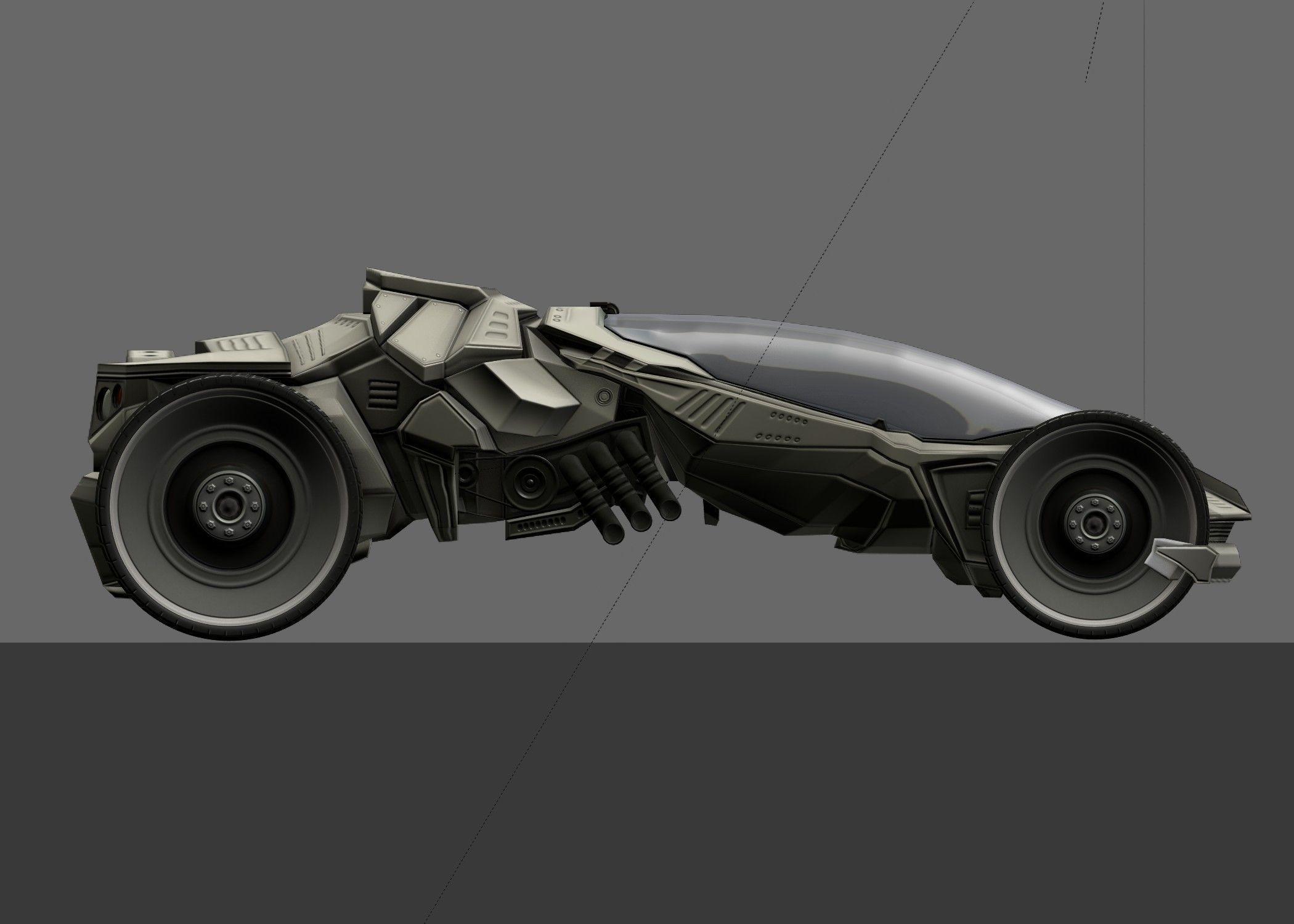 Futuristic Car Game-Ready