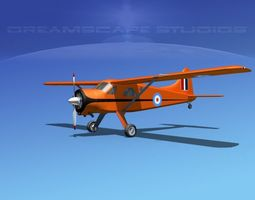 3D model Dehaviland DH-2 Beaver RNZAF