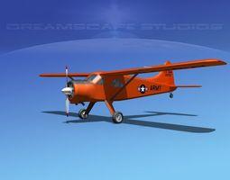 Dehaviland DH-2 Beaver US Army 1 3D Model
