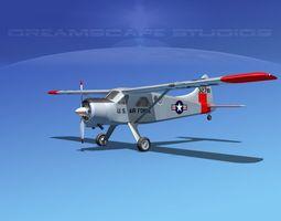 Dehaviland DH-2 Beaver USAF 1 3D model