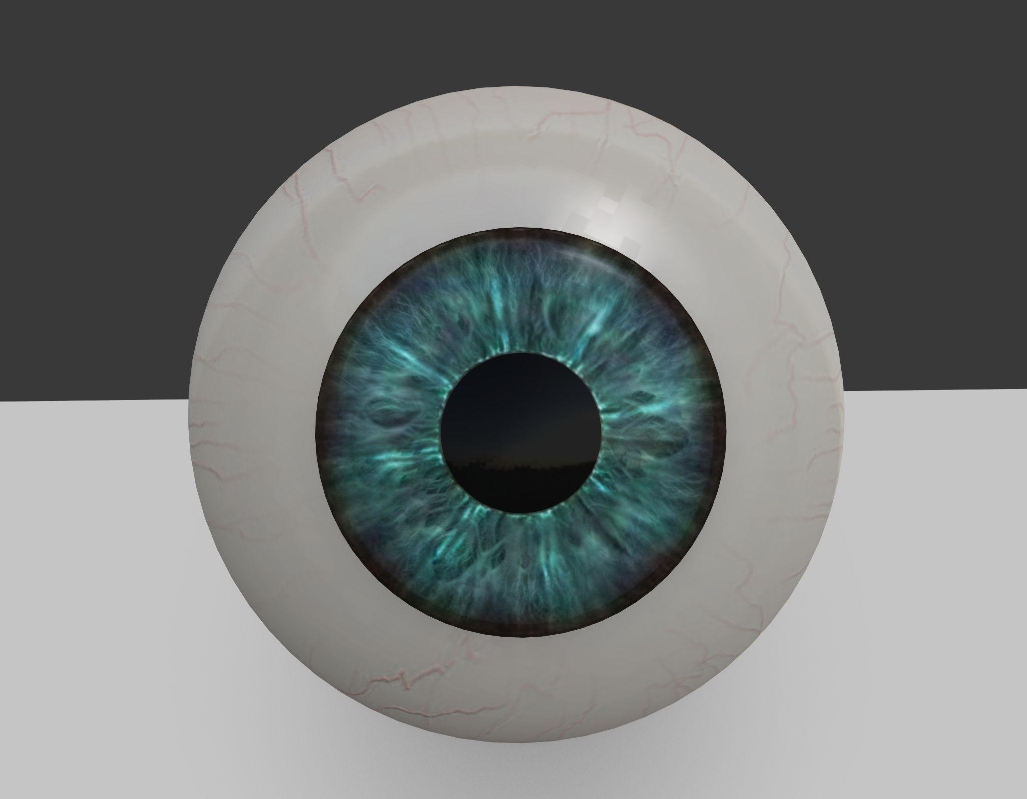 3D model Eyeball   CGTrader
