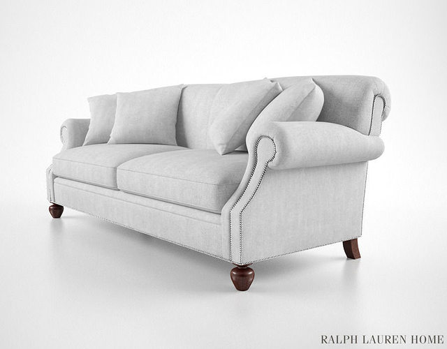 Ralph Lauren Sofa 3d Model Cgtrader