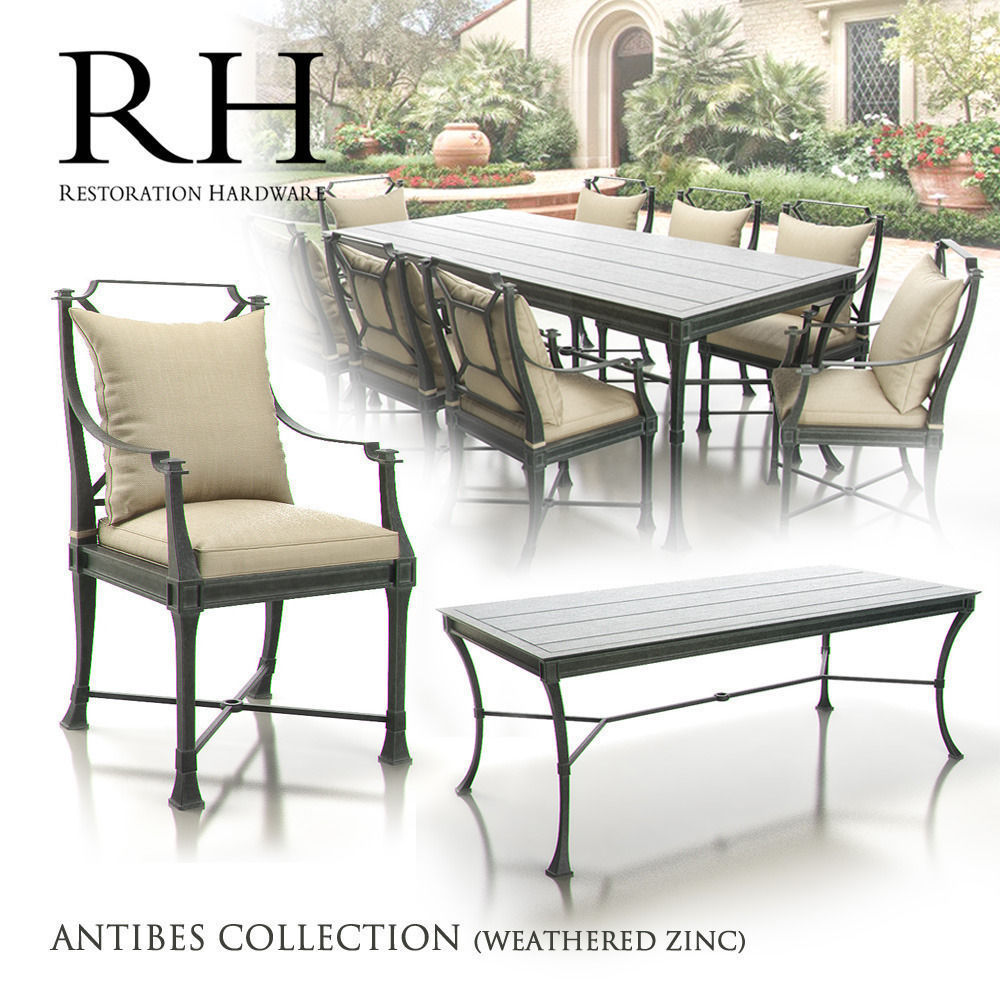 Outdoor Furniture Restoration Hardware. Restoration Hardware   Antibes  Collection 3d Model Max 1 Outdoor Furniture