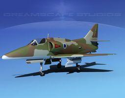 Douglas A-4G Skyhawk IADF 3D