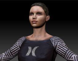 woman 4 3D Model