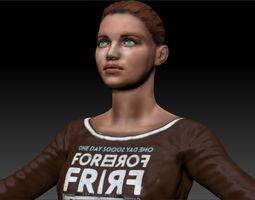Woman 6 3D Model
