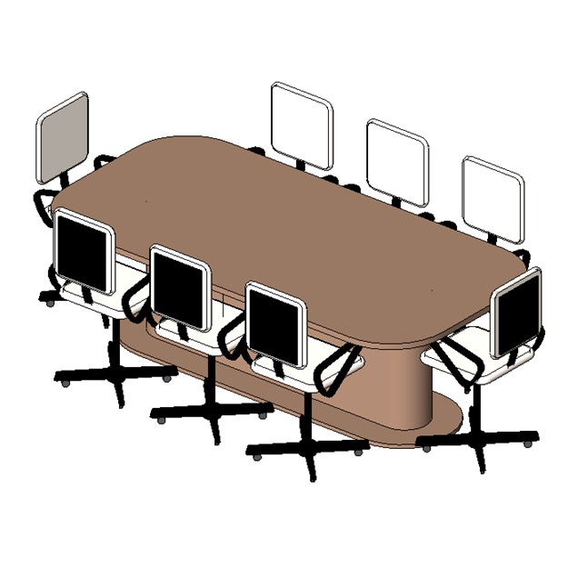 Table conference 8 seater 1 for 108 table seats how many