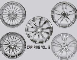 Car Rims Vol  2  3D Model