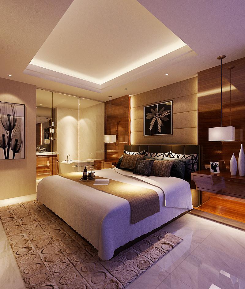 Bedroom 136 3d model max for Bedroom designs 3d model