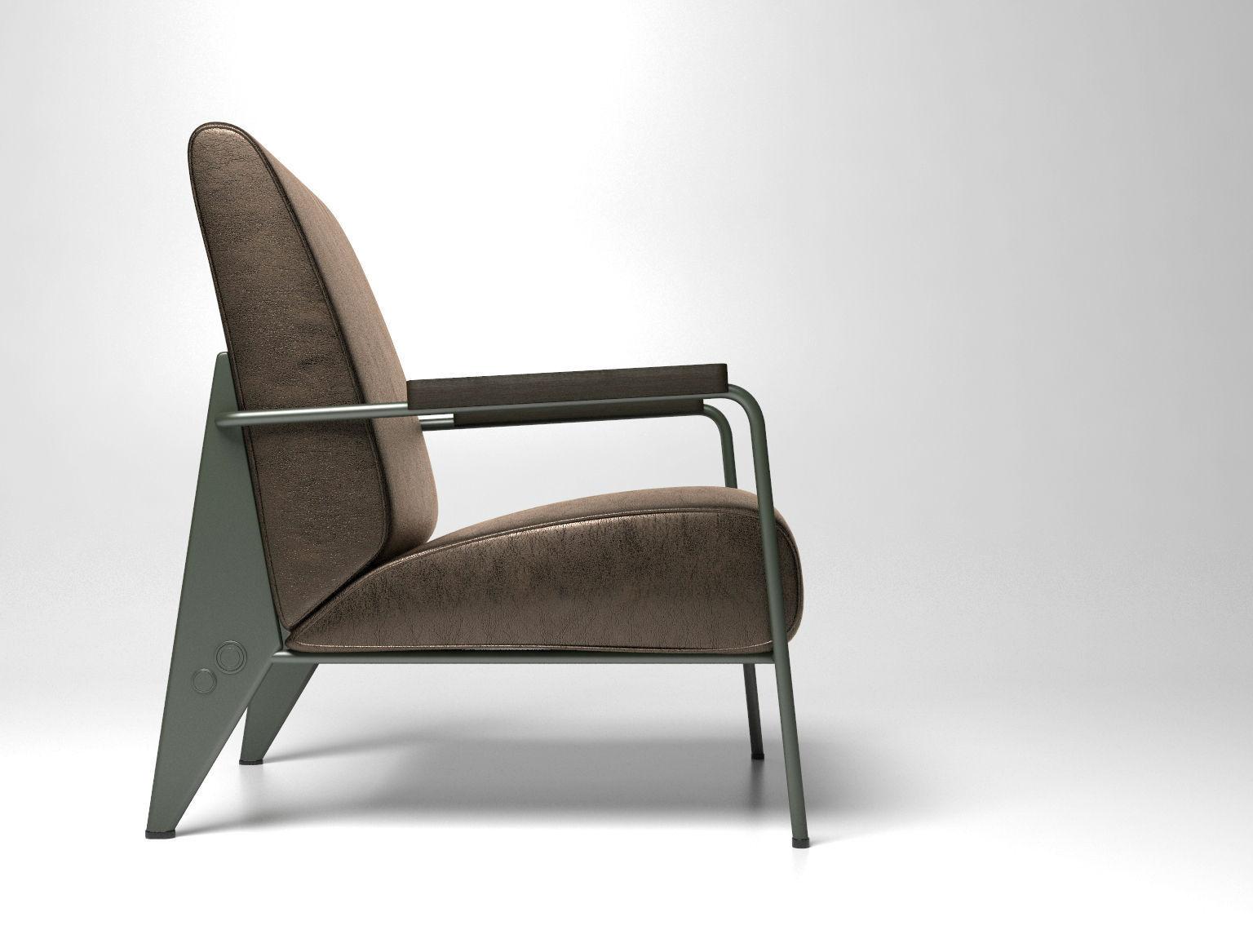 fauteuil de salon haut 3d model max obj 39 Nouveau Model De Fauteuil De Salon Zzt4