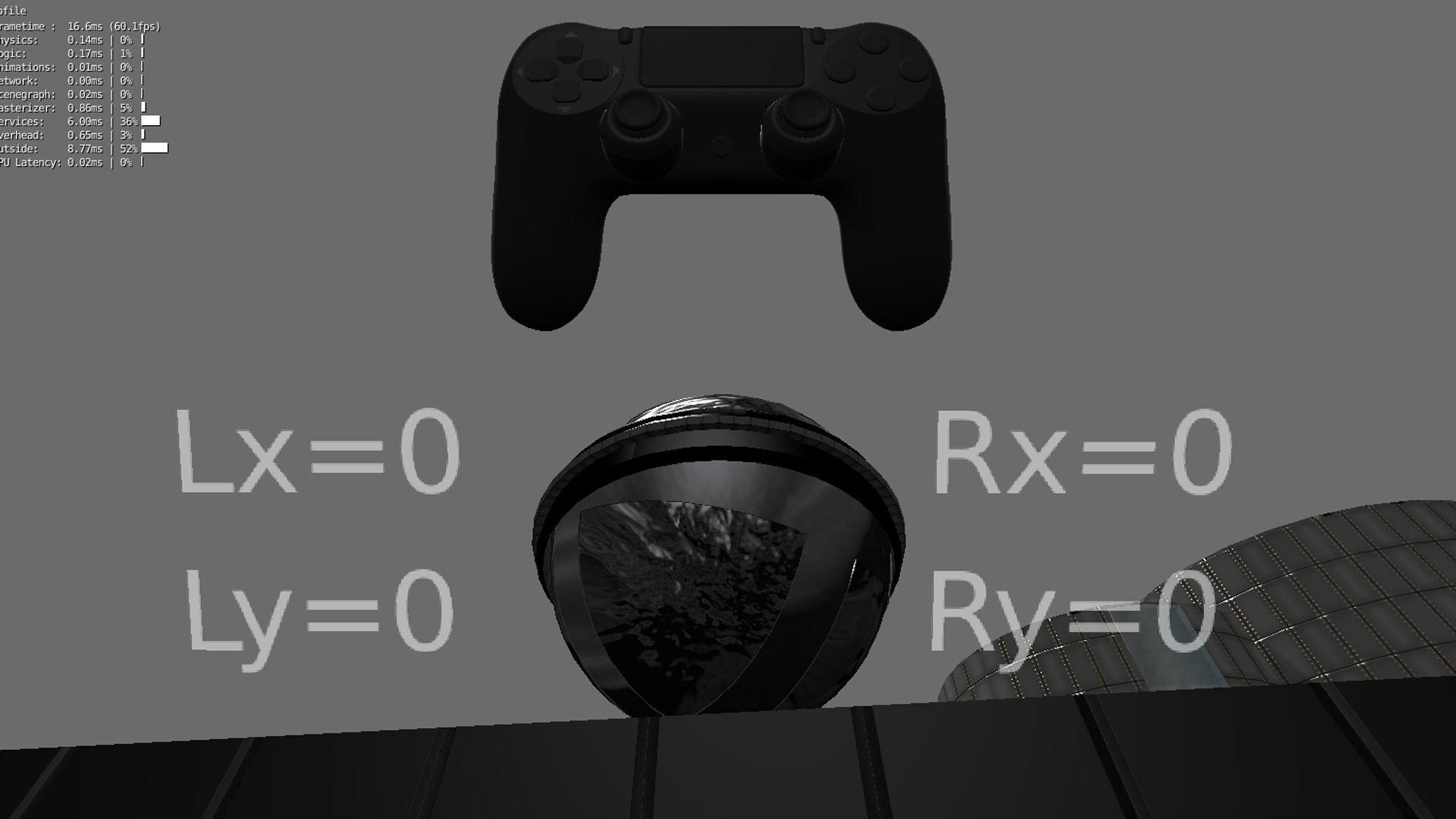 3d Model Blender Game Engine Ps4 Controller Python Script Vr