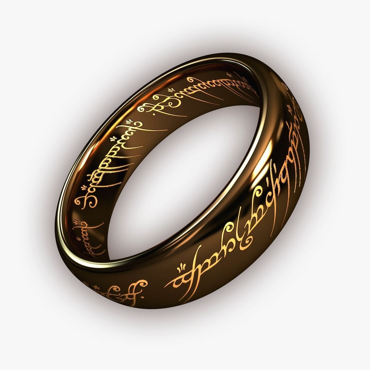 the one ring free 3d model max cgtrader