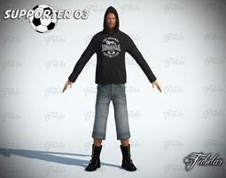 Supporter 03 3D Model