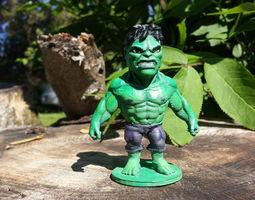 Chibi Hulk 3D Model