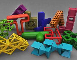 3D printable model Pentomino mind bending game