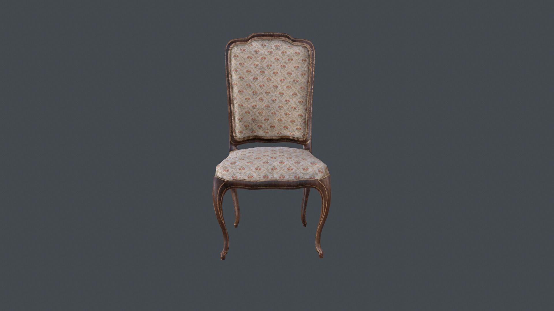 PBR model of  chair