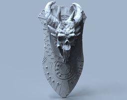 demon shield 3d print model