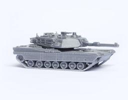 m1 abrams tank model kit