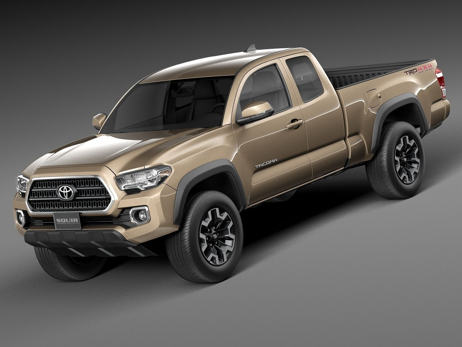 toyota tacoma trd off road 2016 3d model max obj 3ds fbx c4d lwo lw lws. Black Bedroom Furniture Sets. Home Design Ideas