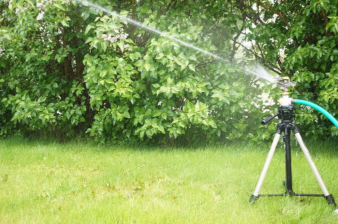quick release sprinkler tripod adapter 3d model stl 1
