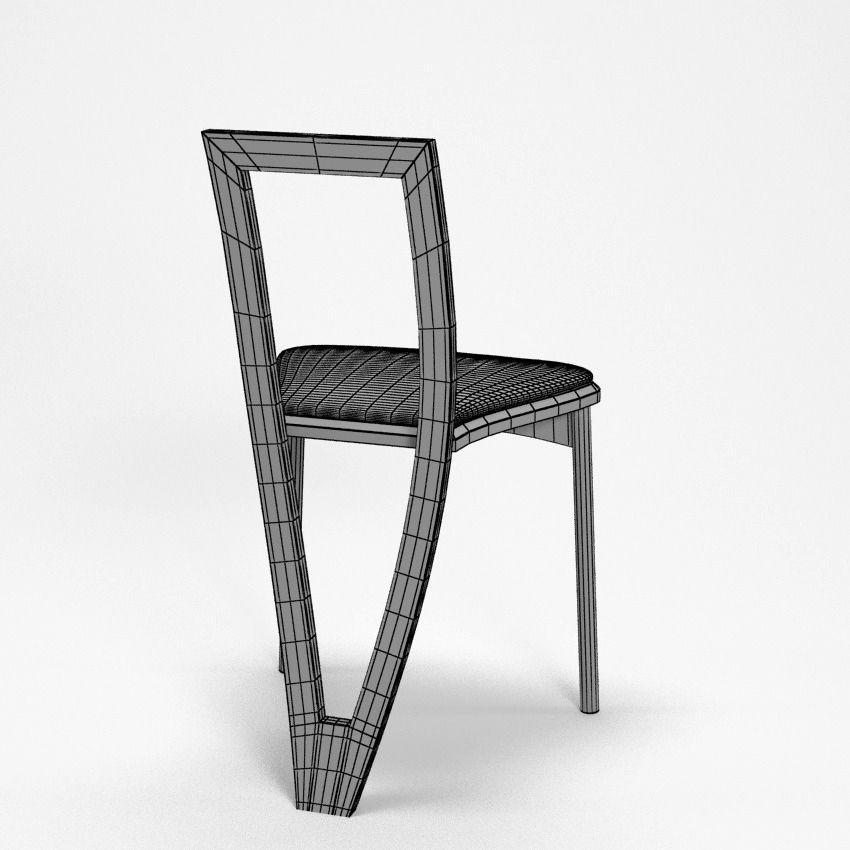 Modern chair 3d model max obj 3ds fbx for New model chair design