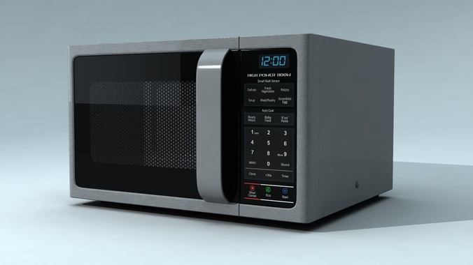Microwave Oven3D model