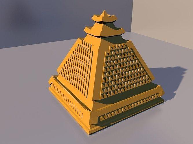 showcase pyramid