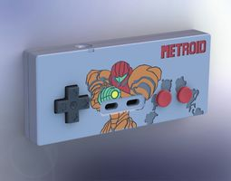 printable metroid-style nes controller