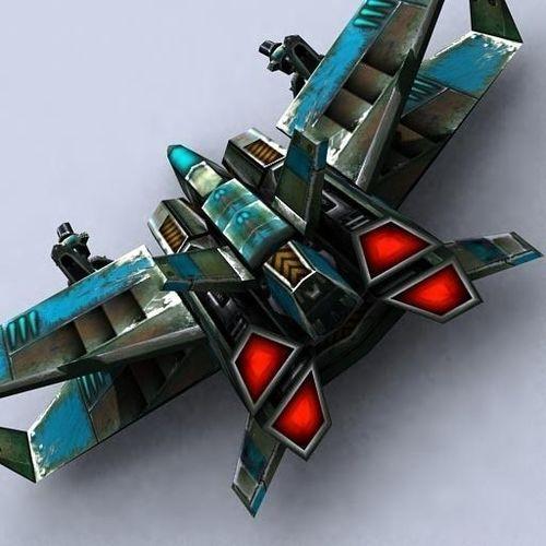 Fighter 23 3D Model Game