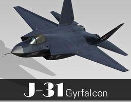 Shenyang J-31 3D
