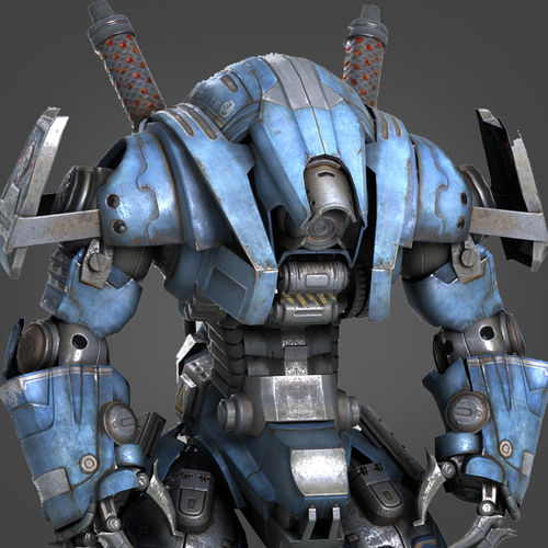 Robot  Warrior3D model