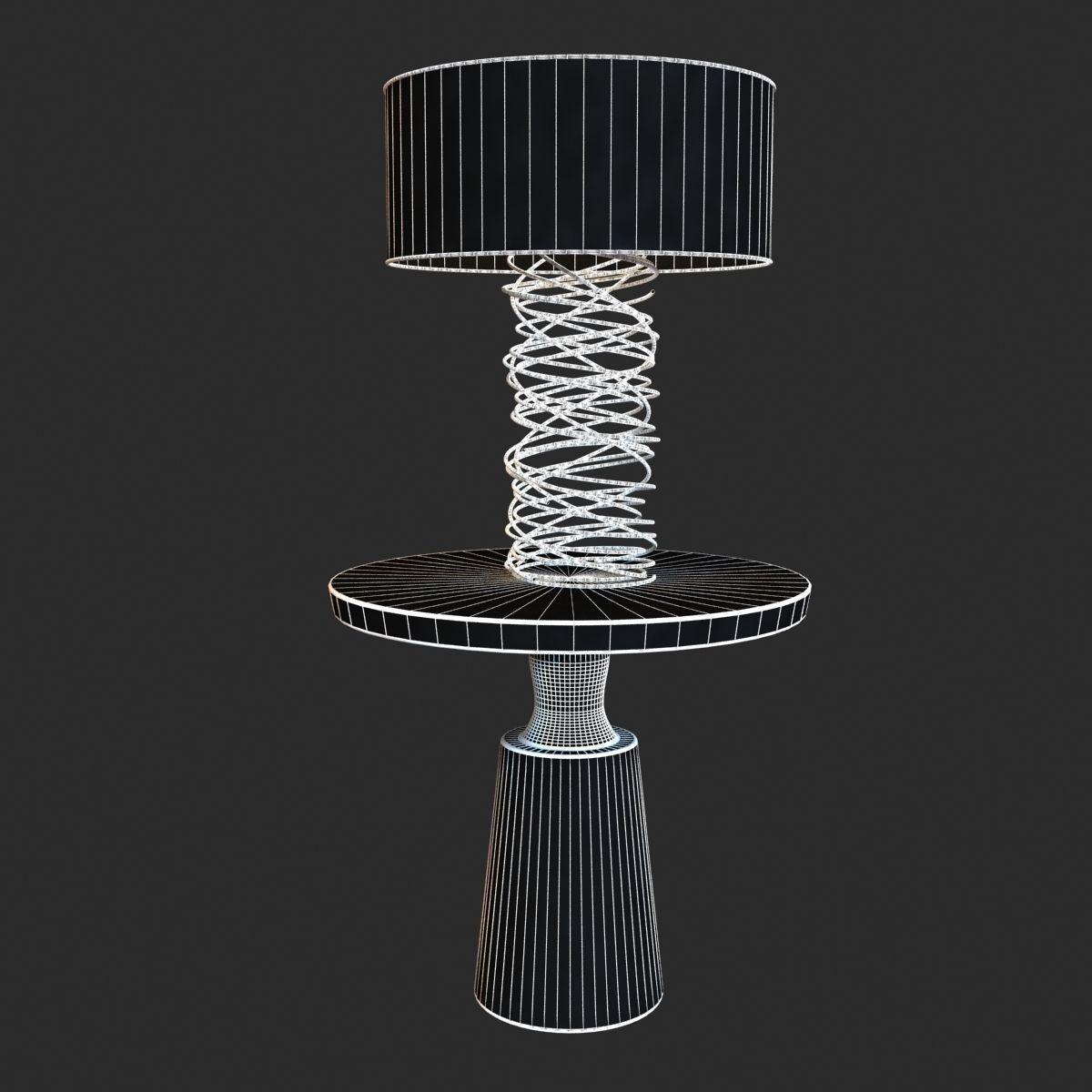 ... ralph pucci table lighting tornado l& 3d model max obj 3ds fbx mtl 7 ... & 3D model Ralph Pucci Table Lighting Tornado lamp