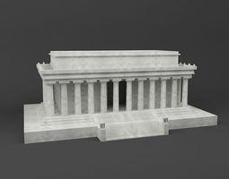 Lincoln memorial 3D Printable Model