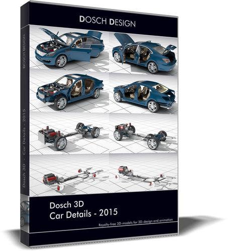 Dosch 3D - Car Details 20153D model