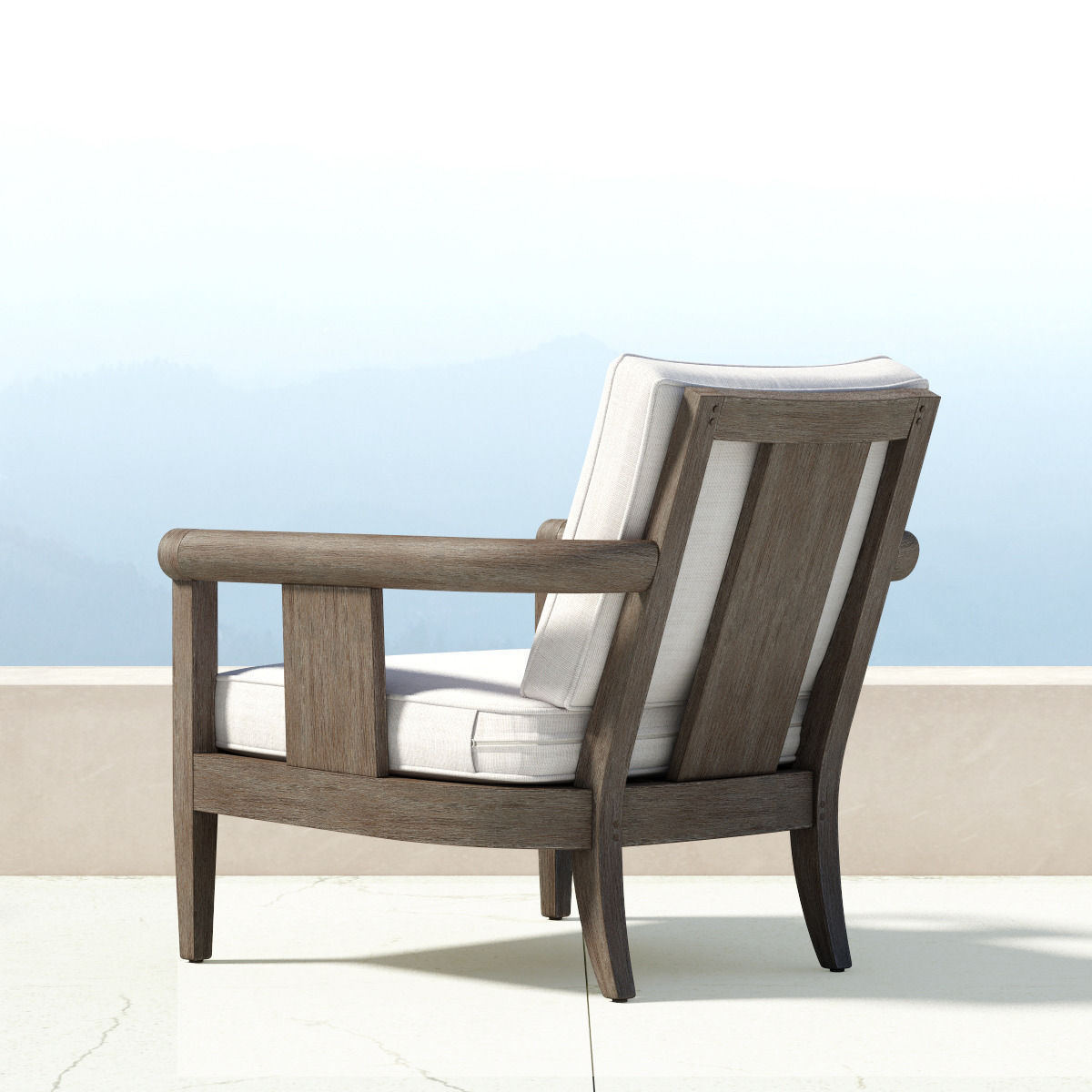 ... Restoration Hardware   Coronado Collection 3d Model Max Obj Fbx ...