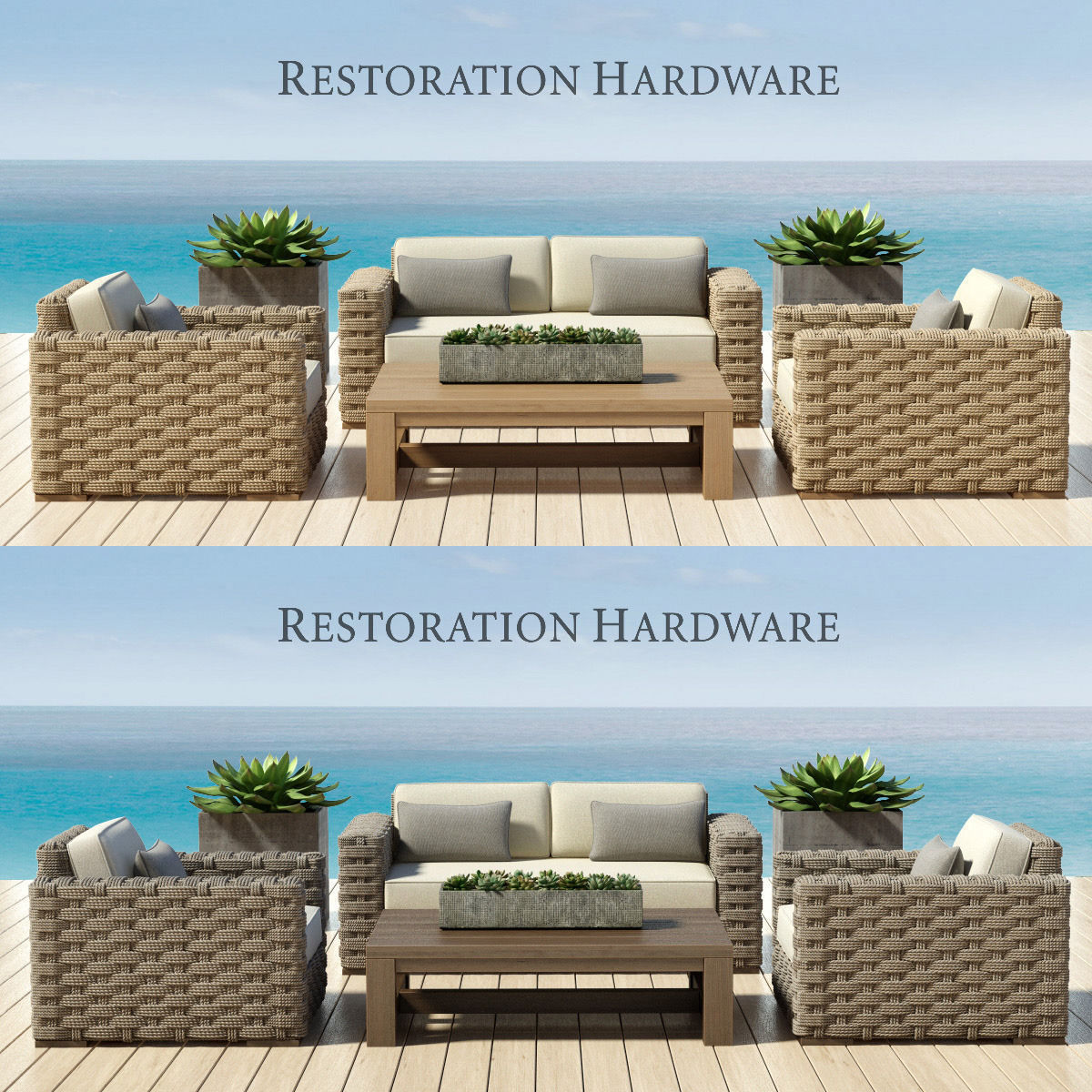 RESTORATION HARDWARE - RUTHERFORD COLLECTION