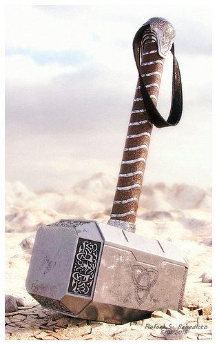hammer of thor 3d model max 1