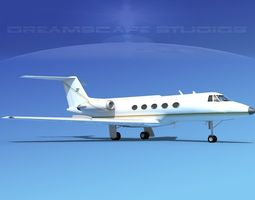 Grumman Gulfstream C-IIB V05 3D model