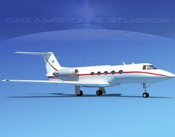 3D Grumman Gulfstream C-IIB V06