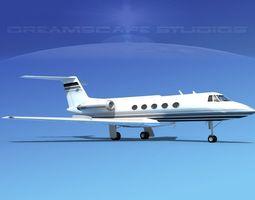Grumman Gulfstream C-IIB V08 3D