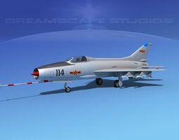 3D model MIG-21 Fishbed V14