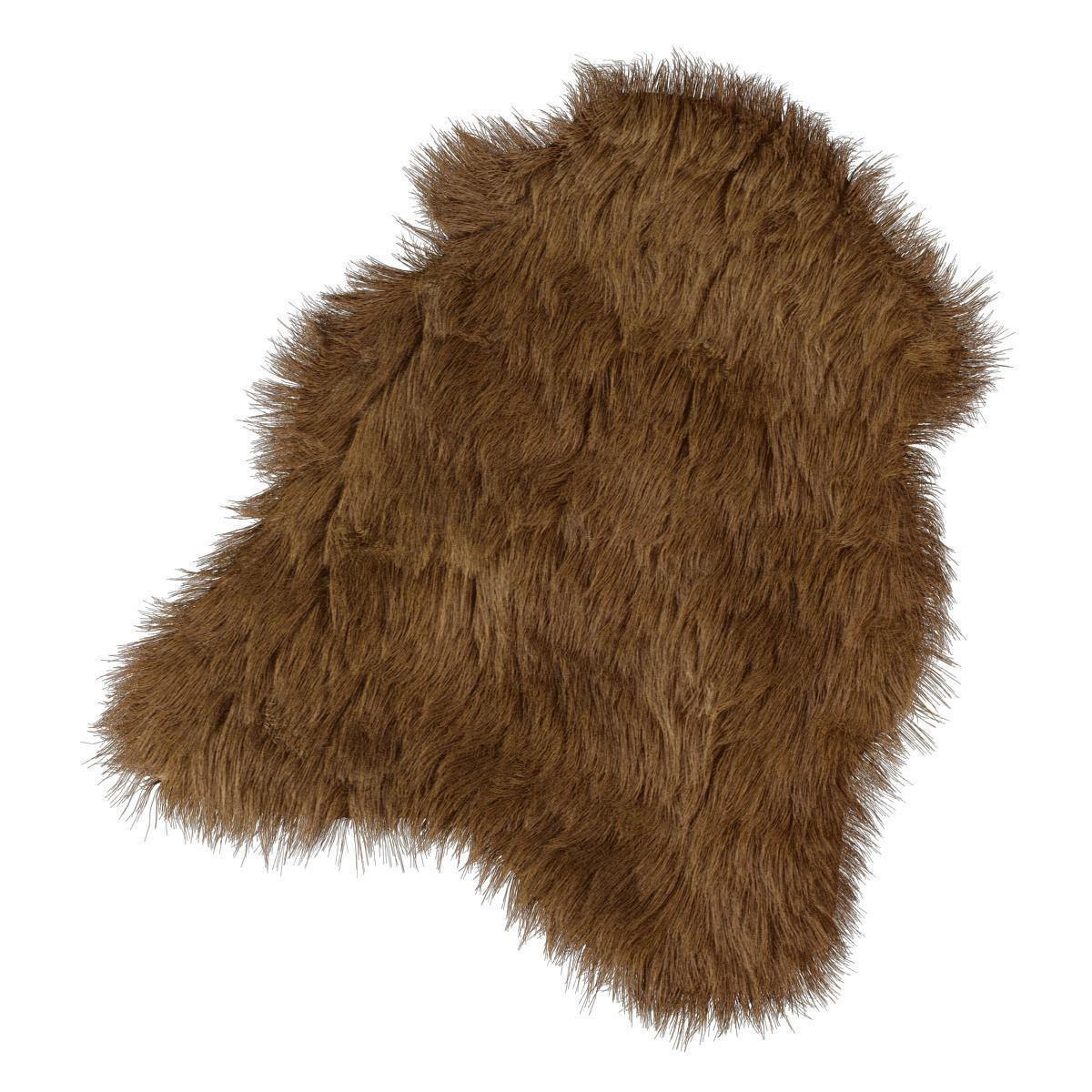 The mat of artificial fur