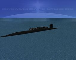 Submarine 3d models download 3d submarine files cgtrader com